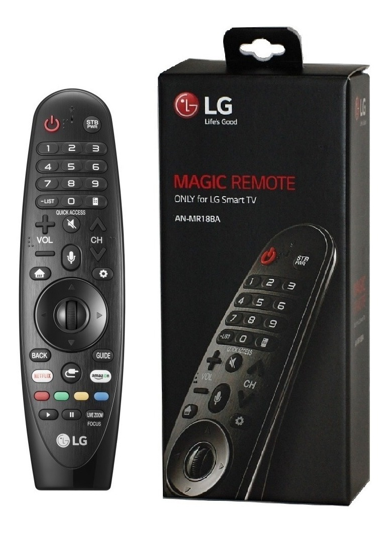 Controle remoto Smarth Magic Motion LG ANMR18BA Original