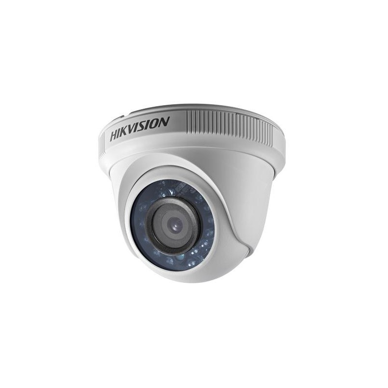 Câmera infra dome interna 20m Hikvision turbo HD